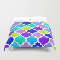 moroccan Duvet Covers featuring Moroccan  by Saundra Myles