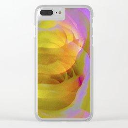 """""""Rosebud"""" Clear iPhone Case"""