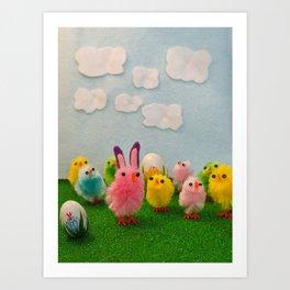 Hoppy Easter! Art Print