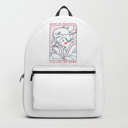 Beautiful Geisha Backpack