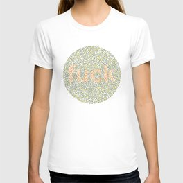 Ishihara Color Blindness plate T-shirt