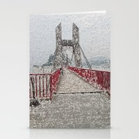 bridge Stationery Cards featuring Bridge by Mr and Mrs Quirynen