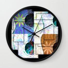 Acoustic Jumble Wall Clock