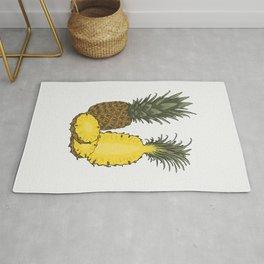 Pineapple set Rug