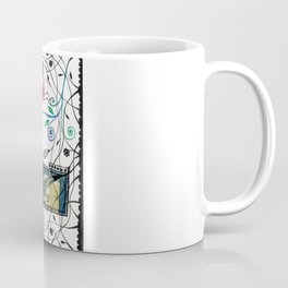 Through the jungle web Coffee Mug