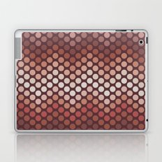 Dot Chevron: Earth tones  Laptop & iPad Skin