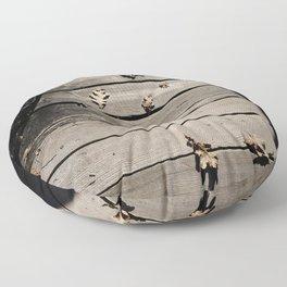 Pensive Autumn Floor Pillow