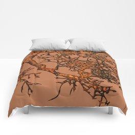 Fallen leaves Comforters
