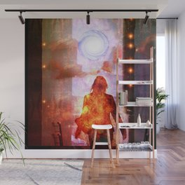 Her Infernal Exit Wall Mural