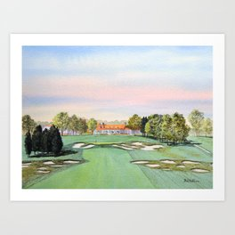 Bethpage State Park Golf Course Art Print