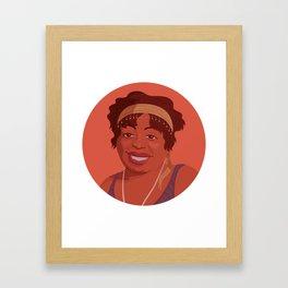 Queer Portrait - Ma Rainey Framed Art Print