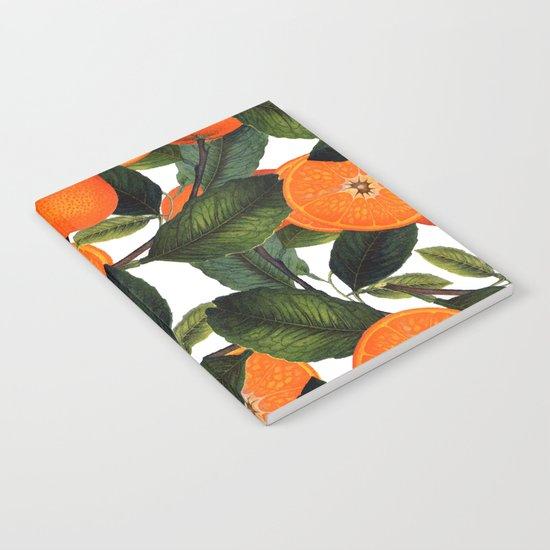 The Forbidden Orange #society6 #decor #buyart Notebook