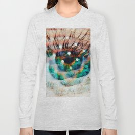 Green Eyes Hypnotize Long Sleeve T-shirt