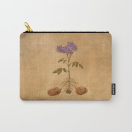 Anatomy of a Potato Plant Carry-All Pouch