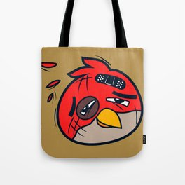 Battered Bird II Tote Bag
