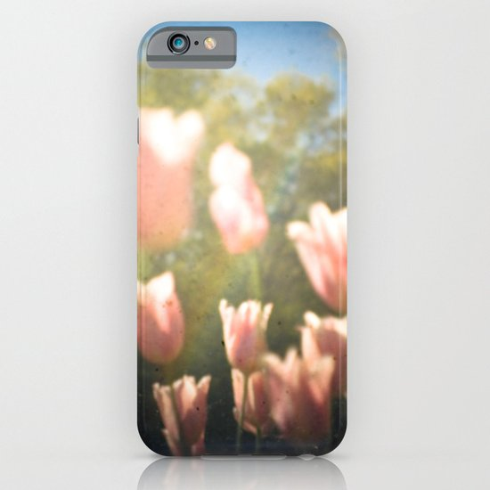 Dreamy Pink Tulips iPhone & iPod Case