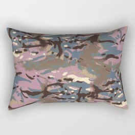 Camo Camo, don't blend in with the crowd! Rectangular Pillow