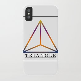 T R I A N G L E iPhone Case
