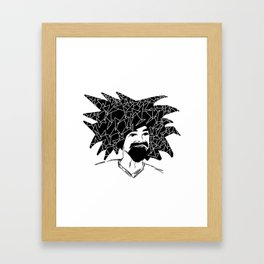 Try angle your head Framed Art Print