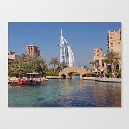 Burj Al Arab Hotel Canvas Print