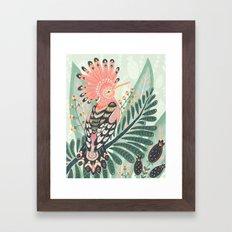 Hoopoe Bird Framed Art Print