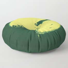 Zombie Invasion Floor Pillow