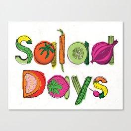 Salad Days Canvas Print