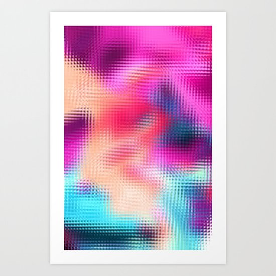 Bastard Abstract Art Print