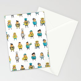 Wooferland: Wooferkers Pattern Stationery Cards