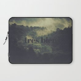 "Très Bien ""Forest"" Laptop Sleeve"