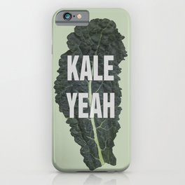 KALE YEAH iPhone Case