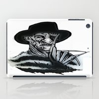 freddy krueger iPad Cases featuring FREDDY  by shannon's art space
