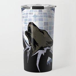 Howling at the Disco Moon Travel Mug