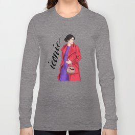 Iconic by Silvana Arias Long Sleeve T-shirt