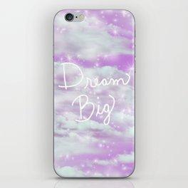 Dream Big - Lavender  iPhone Skin