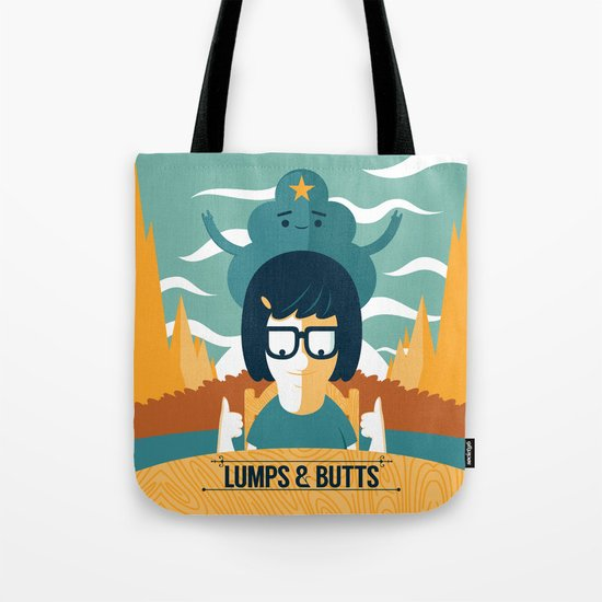 Lumps & Butts Tote Bag