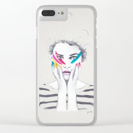 War Paint Ramona Clear iPhone Case