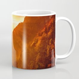 Epic Autumn Sunset Mountain Coffee Mug