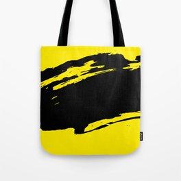yellow black Tote Bag
