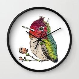 Baby Hummingbird Wall Clock