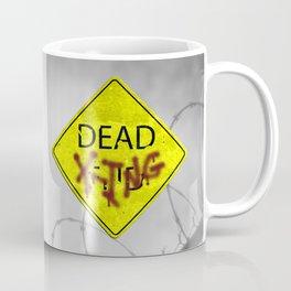 Zombie Crossing Coffee Mug