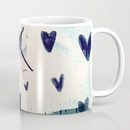 Black Hearts Coffee Mug