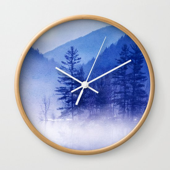 mystic sunrise II Wall Clock