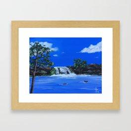 Morning Waters Framed Art Print
