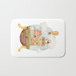 Keep your paradise in your heart Bath Mat