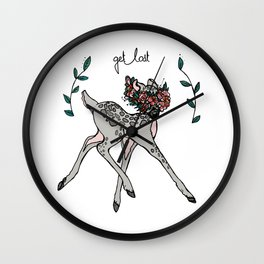 Get Lost Wall Clock