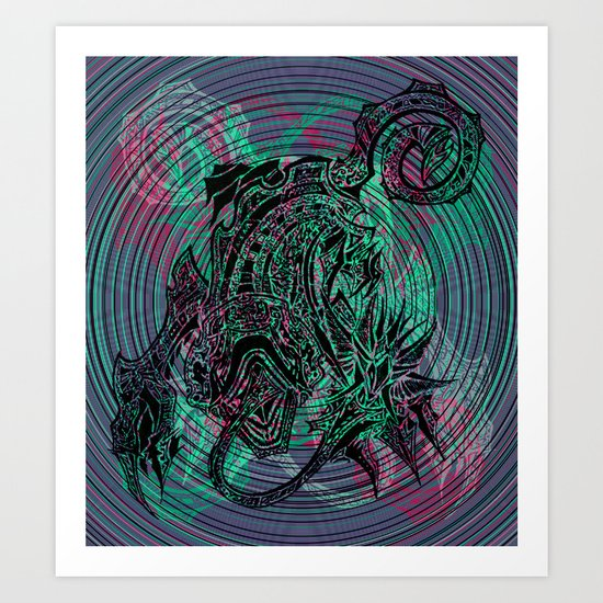 """Frances The Mute"" Art Print"