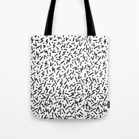 jazz Tote Bags featuring JAZZ by Ellie Cryer