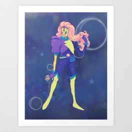 Art: Outer Space Baby Art Print