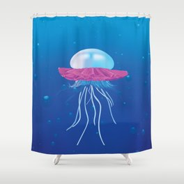 I Don't Think You're Ready For This Jelly(fish) Shower Curtain